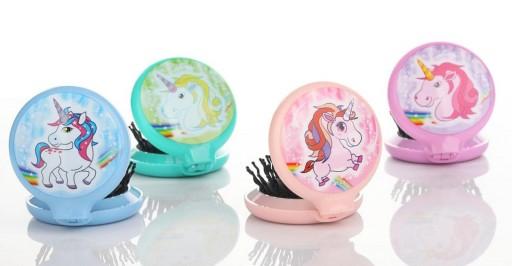 Cepillo + Espejo Unicornio