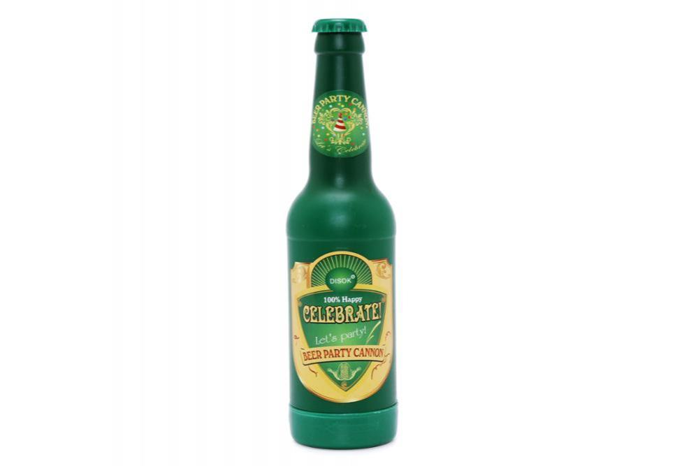 CAÑON ESPIRALES EN FORMA DE BOTELLA Cerveza