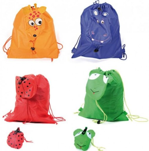 MOCHILA PLEGABLE ANIMALS