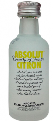 Mini Absolut Citron