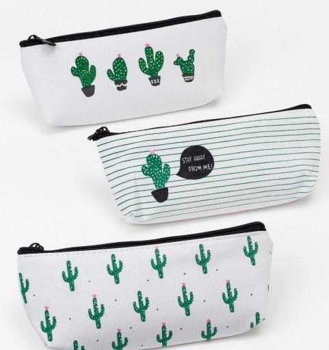 Guardatodo con cremallera cactus