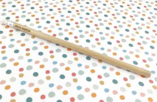 Lápiz madera grabado
