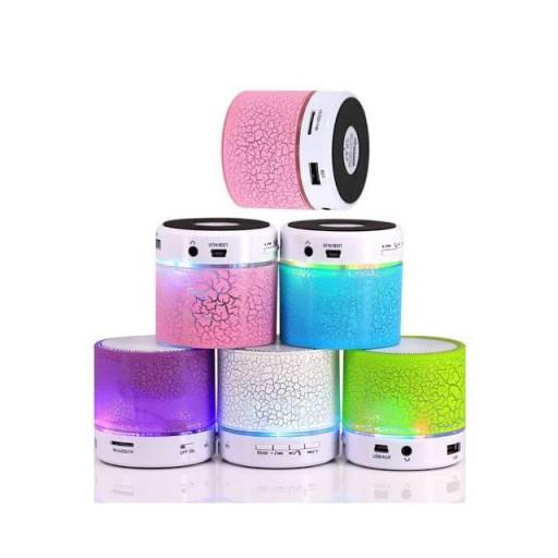 Mini altavoces bluetooth + Radio + Usb  + luz led