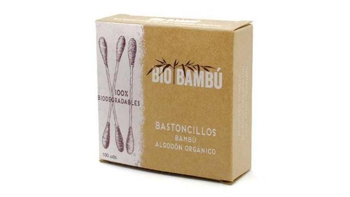 Bastoncillos Bambú Algodón Orgánico