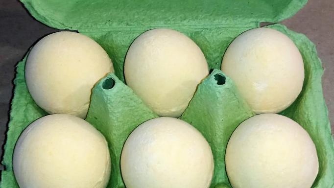 Limón. Cartón Huevo efervescente.  [1]
