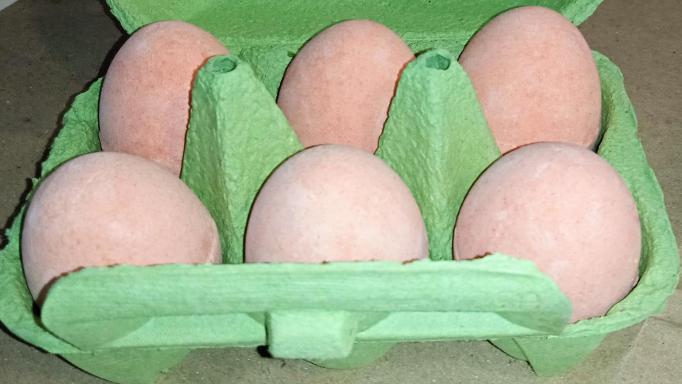 Mango. Cartón Huevo efervescente.  [2]