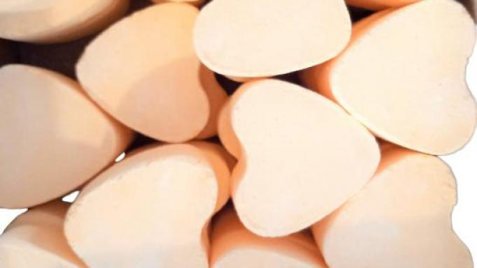 Corazón efervescente con aroma Lima [1]