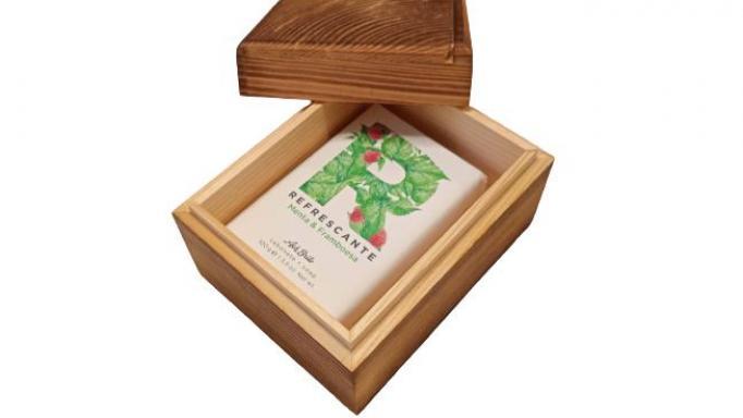 Caja mini de madera con tapa [1]