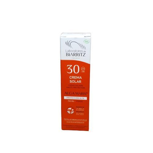 Crema Solar Facial SPF30 con certificado BIO. 50ml.
