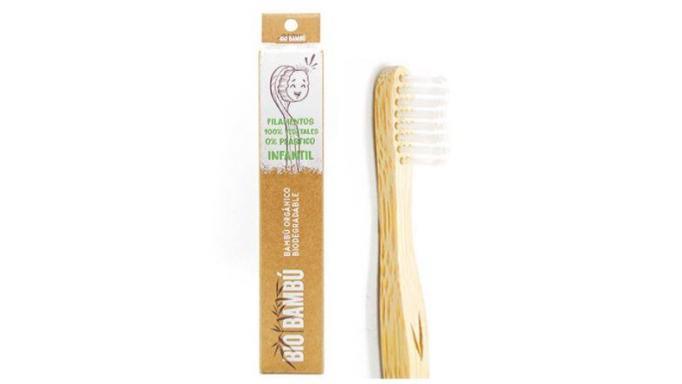 Cepillo de dientes de Bambú infantil
