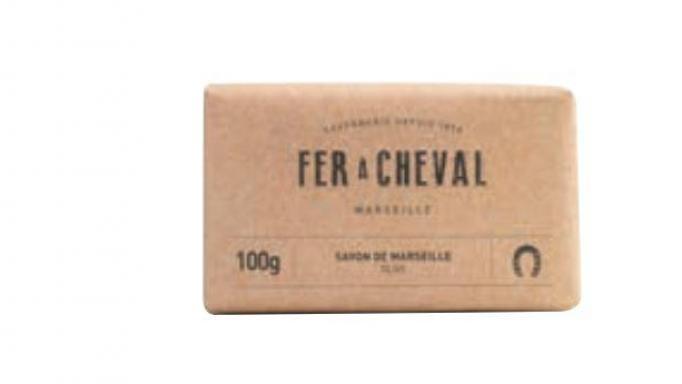 Pastilla de jabón de Marsella al aceite de oliva 100 gr
