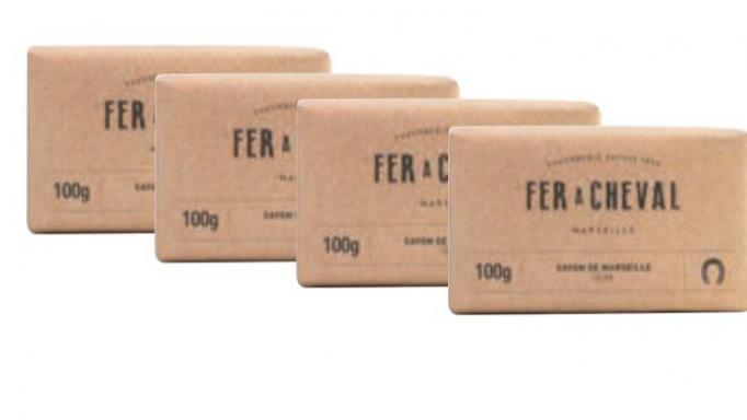 Paquete 4 * Jabón de Marsella al aceite de oliva 100gr