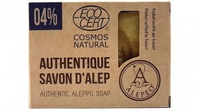 Jabón natural de Alepo 04% certificado Eco Cert. [1]