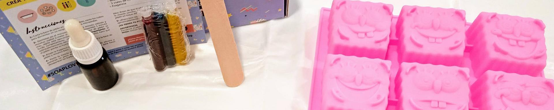 Hacer jabones de glicerina con niños- DIY