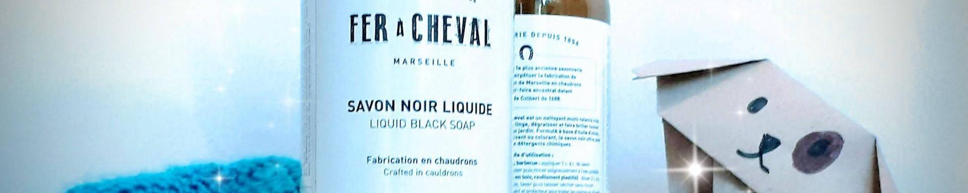 Utilidades del jabón negro Fer À Cheval