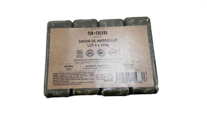 Paquete 4 * Jabón de Marsella al aceite de oliva 100gr [2]