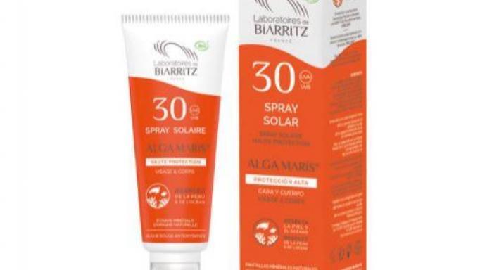 Spray Solar Cara & Cuerpo SPF30 100 ml con certificado BIO.  [0]