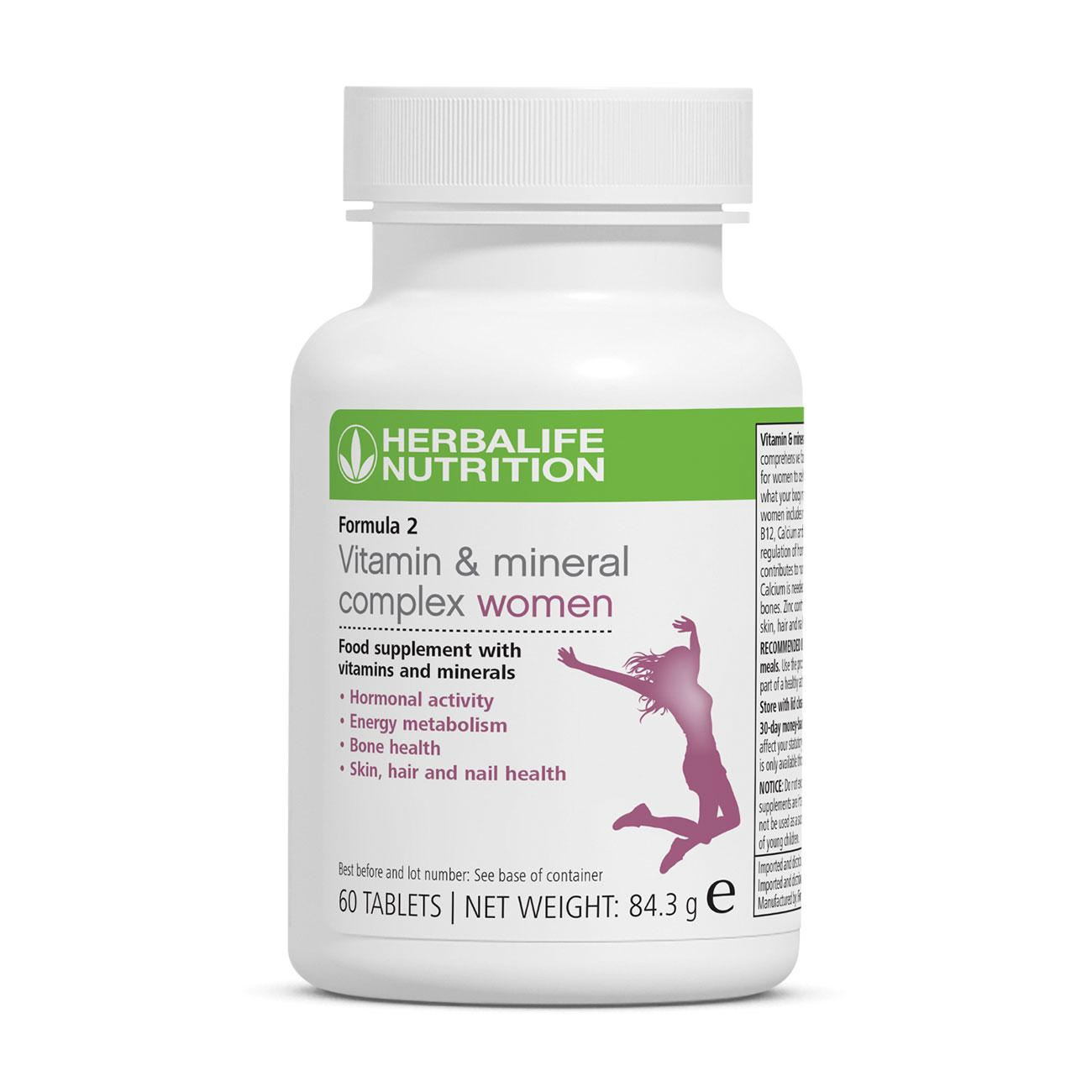 Formula 2 - Vitamin & Mineral Complex Women's 60 tablets