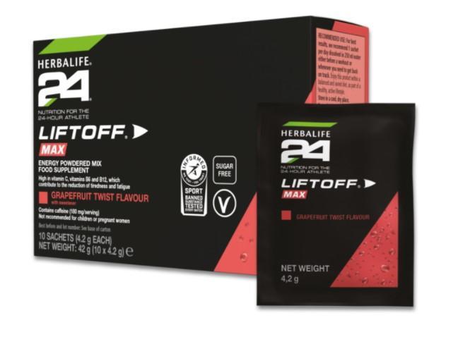 LiftOff® Max Grapefruit Twist 10 x 4.2 g sachets