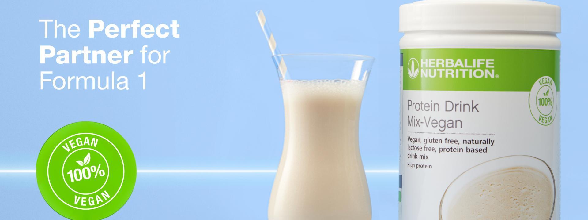 Herbalife Vegan Protein Drink Mix Vanilla 560g