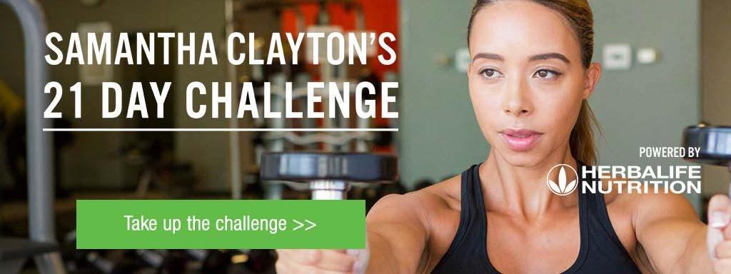21 Day Challenge with Samantha Clayton
