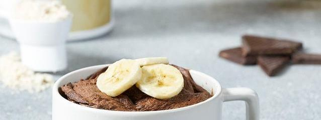 Banana Pumpkin Pie Protein Shake