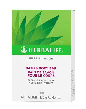 Herbal Aloe Bath & Body Bar 125 g
