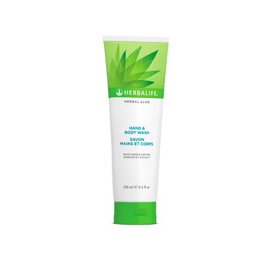 Herbal Aloe Hand & Body Wash 250 mL