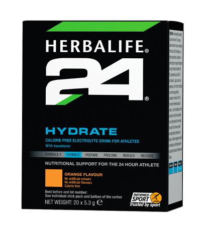 Hydrate Orange 20 stick packs