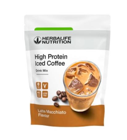 High Protein Iced Coffee Latte Macchiato 308 g