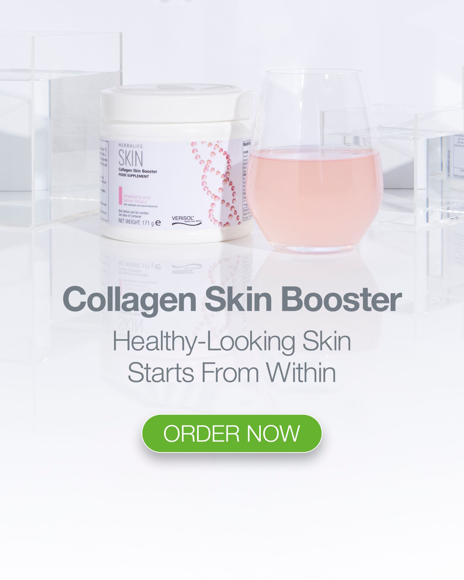 Collagen booster skin