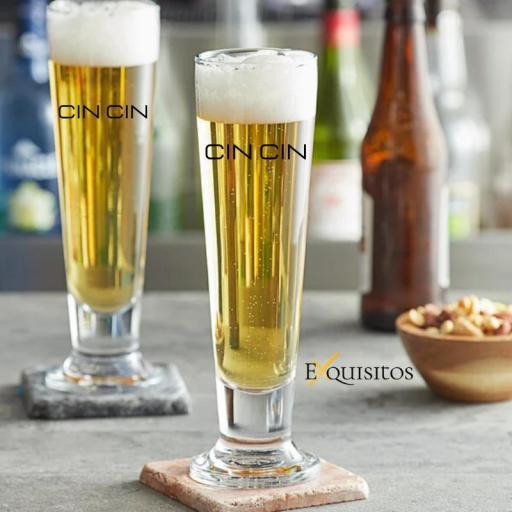Vaso de Cerveza Personalizado. CinCin 41