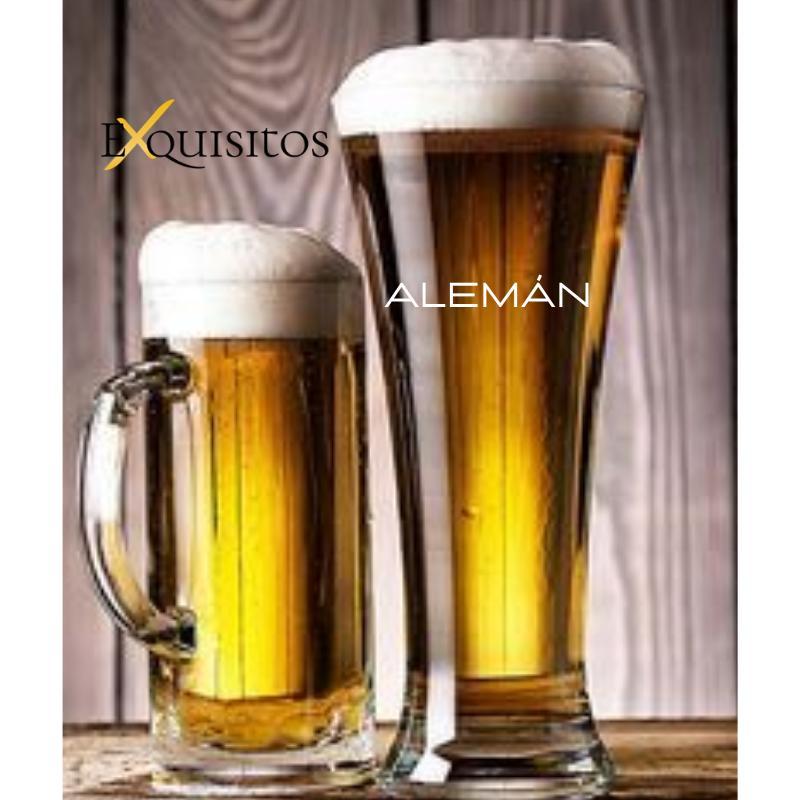 Vaso de Cerveza Alemán Personalizado.