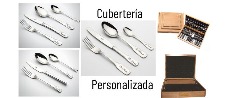 Cubiertos Personalizados y no personalizados
