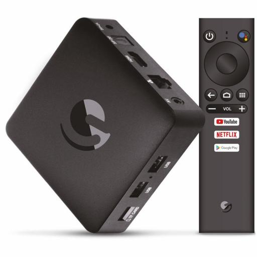 Smarttv / Tv Box Engel En1015K - Android Tv / Chromecast / Google Assistant [0]