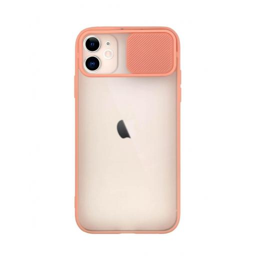Apple iPhone 11 Funda con Protección de Cámara Rosa