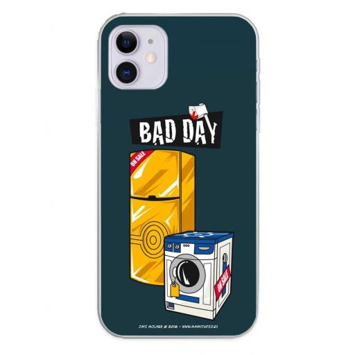 Apple iPhone 11 Funda Silicona Bad Day Offer