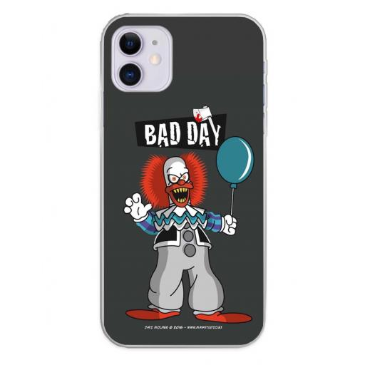 Apple iPhone 11 Funda Silicona Bad Day Party