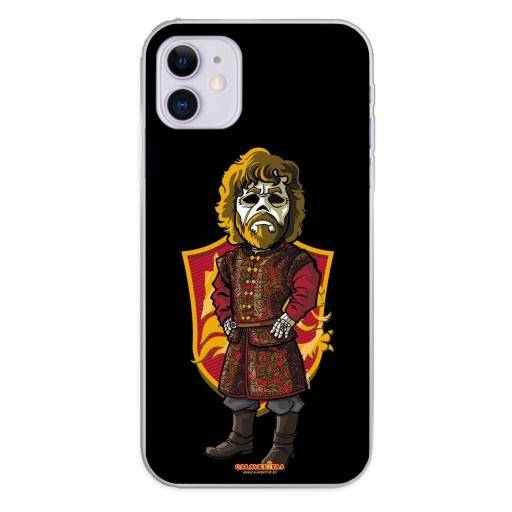 Apple iPhone 11 Funda Silicona Calaveritas The King