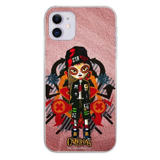 Apple iPhone 11 Funda Silicona Catrinas Leire
