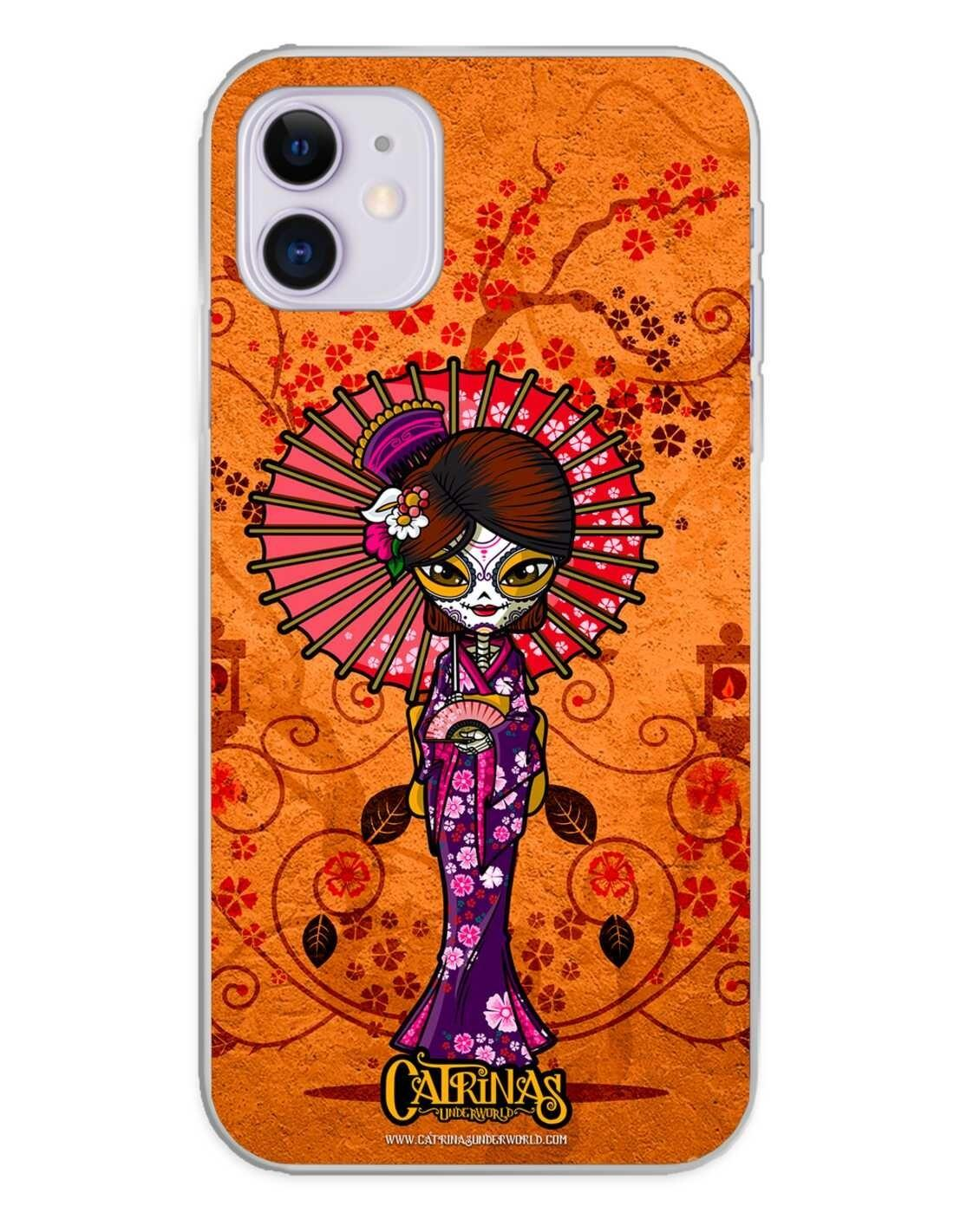 Apple iPhone 11 Funda Silicona Catrinas Mariko