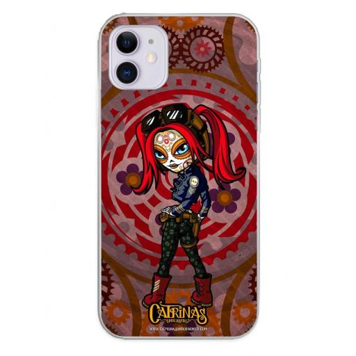 Apple iPhone 11 Funda Silicona Catrinas Mary Jane