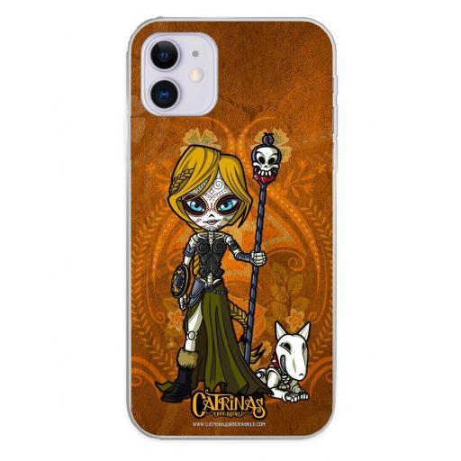 Apple iPhone 11 Funda Silicona Catrinas Valeria