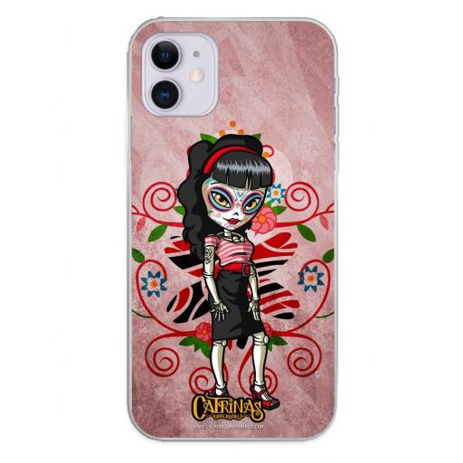 Apple iPhone 11 Funda Silicona Catrinas Vixen