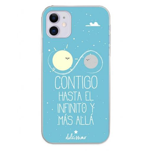 Apple iPhone 11 Funda Silicona Dulcissimo Hasta El Infinito