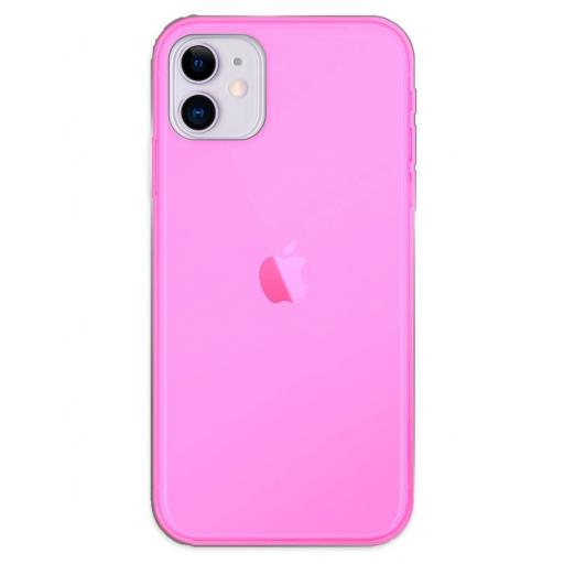 Apple iPhone 11 Funda Silicona Rosa