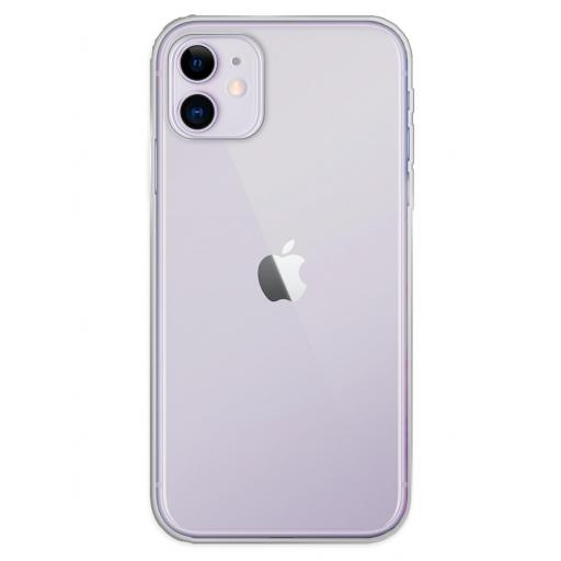 Apple iPhone 11 Funda Silicona Transparente