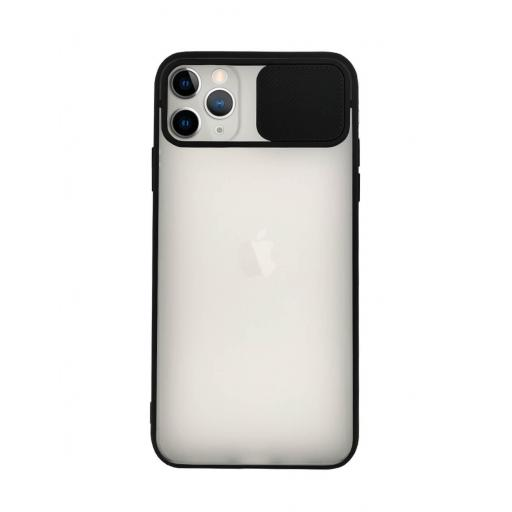 Apple iPhone 11 Pro Max Funda con Protección de Cámara Negro