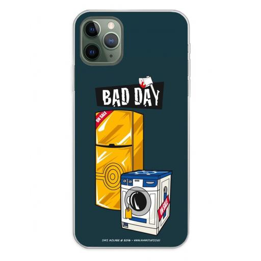 Apple iPhone 11 Pro Max Funda Silicona Bad Day Offer