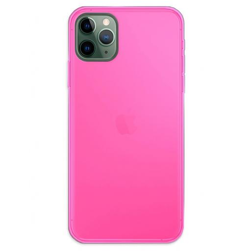 Apple iPhone 11 Pro Max Funda Silicona Rosa